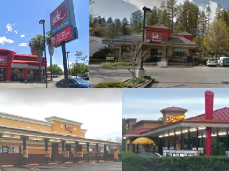$6.870MM - Fast food restaurants - Redding, CA